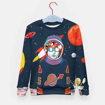 Thumbnail image of Spaceman Kid's Sweater, Live Heroes
