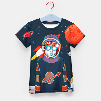 Thumbnail image of Spaceman Kid's T-shirt, Live Heroes