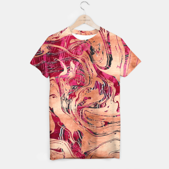 Thumbnail image of RoseGold Marble T-shirt, Live Heroes