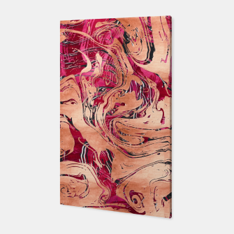 Thumbnail image of RoseGold Marble Canvas, Live Heroes