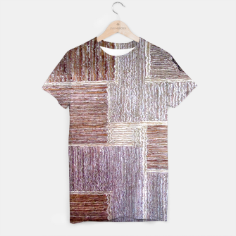 Thumbnail image of 3D Leather textile T-shirt, Live Heroes