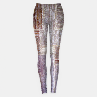 Thumbnail image of 3D Leather textile Leggings, Live Heroes