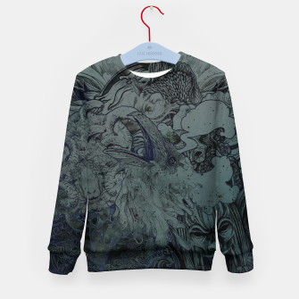 Thumbnail image of Mix Night Kid's Sweater, Live Heroes