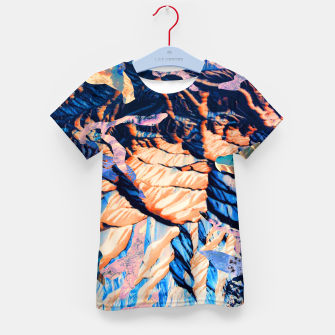 Thumbnail image of MOUNTAIN 01 Kid's T-shirt, Live Heroes