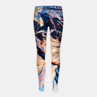 Thumbnail image of MOUNTAIN 01 Girl's Leggings, Live Heroes
