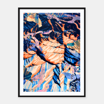 Thumbnail image of MOUNTAIN 01 Framed poster, Live Heroes