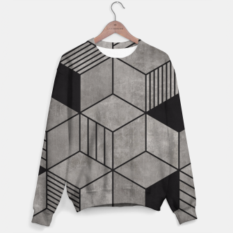 Thumbnail image of Random Concrete Cubes Sweater, Live Heroes