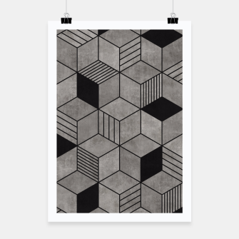 Thumbnail image of Random Concrete Cubes Poster, Live Heroes