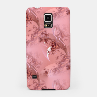 Romantic rose tree fractals pattern Samsung Case thumbnail image