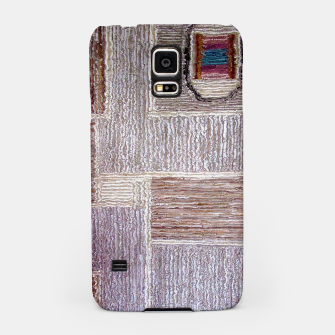 Thumbnail image of 3D Leather textile Samsung Case, Live Heroes
