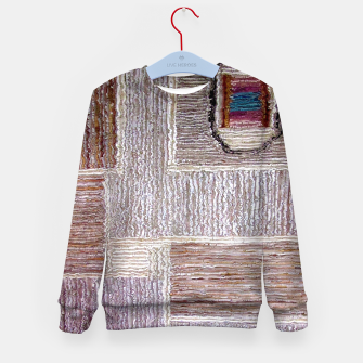 Thumbnail image of 3D Leather textile Kid's Sweater, Live Heroes