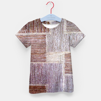 Thumbnail image of 3D Leather textile Kid's T-shirt, Live Heroes