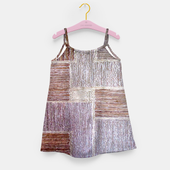 Thumbnail image of 3D Leather textile Girl's Dress, Live Heroes