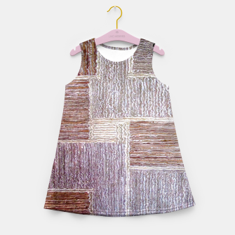 Thumbnail image of 3D Leather textile Girl's Summer Dress, Live Heroes