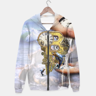 Thumbnail image of Steampunk Birthday letter B Hoodie, Live Heroes