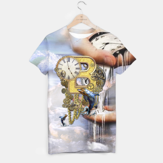 Thumbnail image of Steampunk Birthday letter B T-shirt, Live Heroes