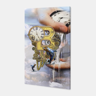 Thumbnail image of Steampunk Birthday letter B Canvas, Live Heroes