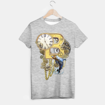 Thumbnail image of Steampunk Birthday letter B T-shirt regular, Live Heroes