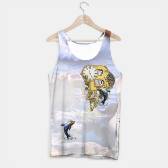 Thumbnail image of Steampunk Birthday letter B T-shirt  Tank Top, Live Heroes