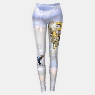 Thumbnail image of Steampunk Birthday letter B T-shirt  Leggings, Live Heroes