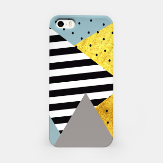 Miniatur Fall Abstraction Green iPhone Case, Live Heroes