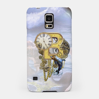 Thumbnail image of Steampunk Birthday letter B T-shirt  Samsung Case, Live Heroes