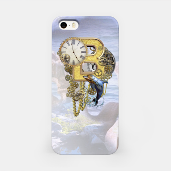 Thumbnail image of Steampunk Birthday letter B T-shirt  iPhone Case, Live Heroes
