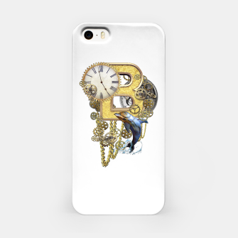 Thumbnail image of Steampunk Birthday letter B iPhone Case, Live Heroes