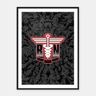 Registered Nurse Framed poster thumbnail image