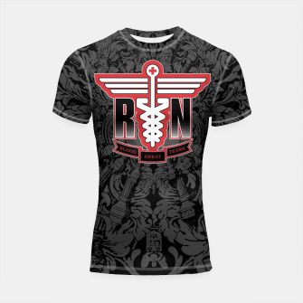 Registered Nurse Shortsleeve Rashguard thumbnail image