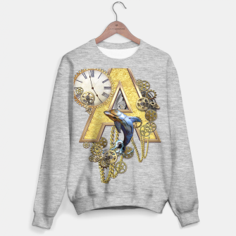 Miniaturka Steampunk birthday letter A  Sweater regular, Live Heroes