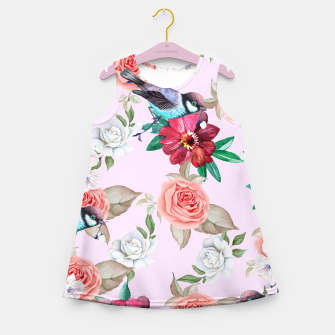 Miniatur Rose Sparrow Girl's Summer Dress, Live Heroes