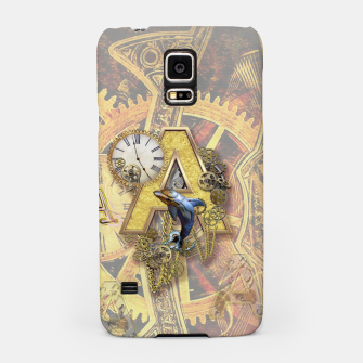 Thumbnail image of Steampunk birthday letter A Samsung Case, Live Heroes