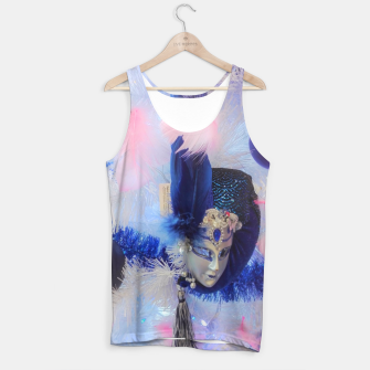 Thumbnail image of Christmas tree with a Venetian mask Tank Top, Live Heroes