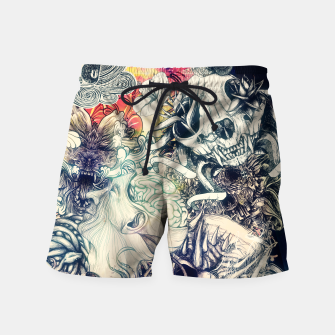 Miniature de image de Second Mix Swim Shorts, Live Heroes