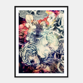 Thumbnail image of Second Mix Framed poster, Live Heroes