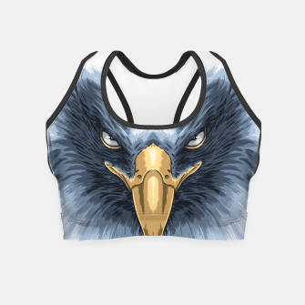 Thumbnail image of Eagle Face Crop Top, Live Heroes