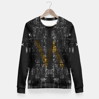 Thumbnail image of Manhattan Skyline Fitted Waist Sweater, Live Heroes