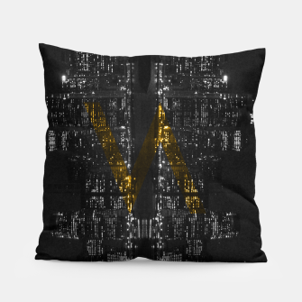 Thumbnail image of Manhattan Skyline Pillow, Live Heroes