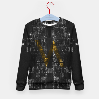 Thumbnail image of Manhattan Skyline Kid's Sweater, Live Heroes