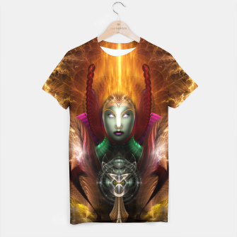 Thumbnail image of Riddian Queen Of Cosmic Fire T-shirt, Live Heroes