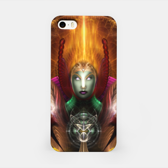 Thumbnail image of Riddian Queen Of Cosmic Fire iPhone Case, Live Heroes