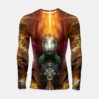 Thumbnail image of Riddian Queen Of Cosmic Fire Longsleeve Rashguard , Live Heroes
