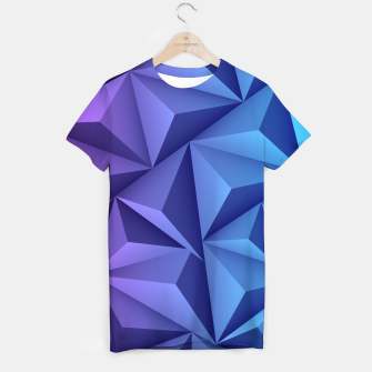 Thumbnail image of 3D Polygonal Design  T-Shirt, Live Heroes
