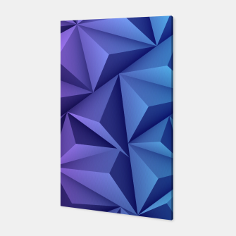 Thumbnail image of 3D Polygonal Design  Canvas, Live Heroes