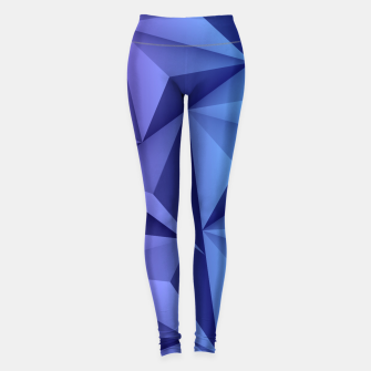Thumbnail image of 3D Polygonal Design  Leggings, Live Heroes