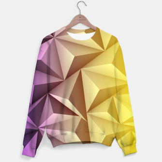 Thumbnail image of 3D Polygonal Design  Sweatshirt, Live Heroes