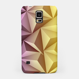 Thumbnail image of 3D Polygonal Design  Handyhülle für Samsung, Live Heroes