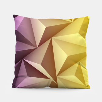 Thumbnail image of 3D Polygonal Design  Kissen, Live Heroes