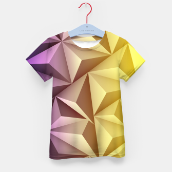 Thumbnail image of 3D Polygonal Design  T-Shirt für Kinder, Live Heroes